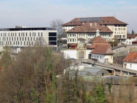 Justizvollzugsanstalt Thorberg im Kanton Bern.