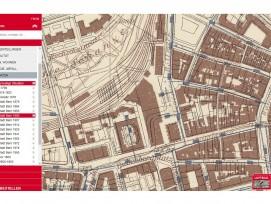 Ausschnitt des Stadtplans von 1900.