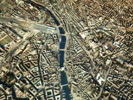 Die digitale Version von Zürich.