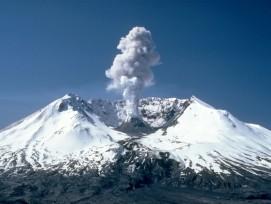 Mount St. Helens im Skamania County im Süden des US-Bundesstaates Washington.