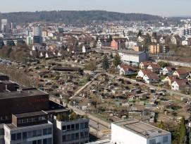 So sieht das Leutschenbach-Areal in Oerlikon heute aus.