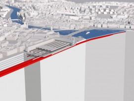 So könnte der Durchgangsbahnhof in der Stadt Luzern dereinst aussehen.