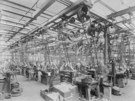 Das industrielle Räderwerk gibt den Takt vor: Eisenwerk Frauenfeld.