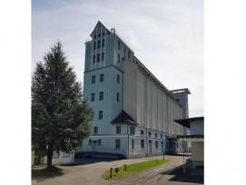 Das ehemalige eidgenössische Getreidesilo auf der Werkmatt Uri in Altdorf.