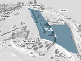 Wolf-Areal in Basel.