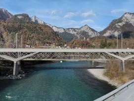 So soll die neue Hinterrheinbrücke künftig aussehen.