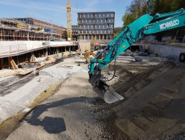 Bau Verwaltungsgebäude in Ittigen bei Bern