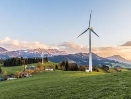 Windturbinen im Emmental, Symbolbild.