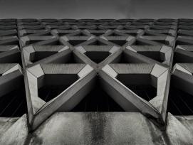 Betonfassade (Schmuckbild)