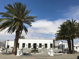 Die typische Bauart auf Lanzarote in Teguise.