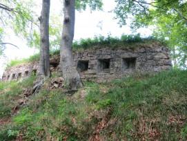 Die Fortifikation Hauenstein verfällt