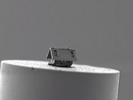 Das kleinste Haus der Welt.