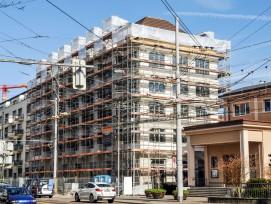 Das Neu- und Umbauprojekt in der Zürcher Hohlstrasse.