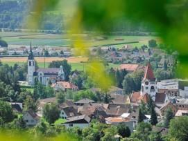 Die Stadt Weinfelden im Kanton Thurgau zählt heute 11300 Einwohner