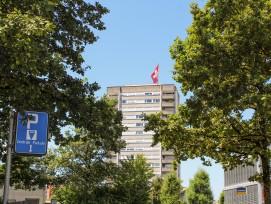 Vor allem der Wohnungsbau entwickelt sich im Kanton Schwyz erfreulich.