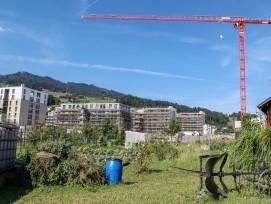 Im Gebiet Schlund in Kriens wird mit der Überbauung Schweighof das erste 2000-WattAreal der Zentralschweiz realisiert.