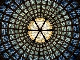 Glasmalerei, Symbolbild.