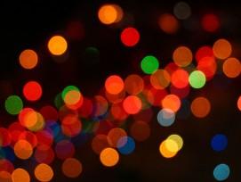 Lichtpunkte, Symbolbild.