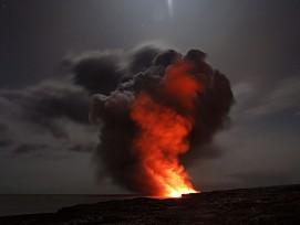 Vulkan auf Hawaii