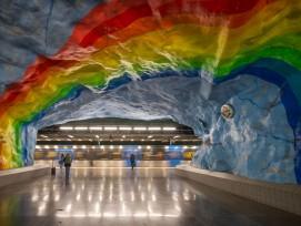 Metrostation in Stockholm