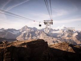 Der «Matterhorn glacier ride»verspricht Nervenkitzel.