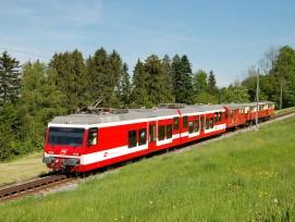 Appenzeller Bahn, Strecke Rorschach-Heiden, Symbolbild.