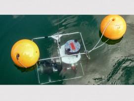 Im Luganersee filterten die Forscher mehrere hundert Liter Wasser in Tiefen bis zu 275 Metern mithilfe einer batteriebetriebenen in situ Pumpe.