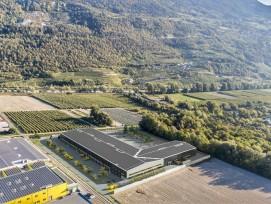 So soll das neue Postzentrum in Vétroz aussehen.