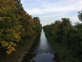 Die teilweise stark kanalisierte Dünnern ist das drittgrösste Fliessgewässer im Kanton Solothurn