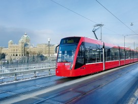 Tram von Bernmobil.
