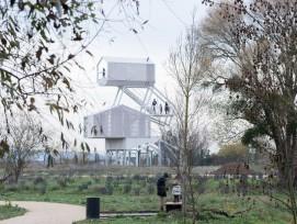 Aussichtsturm Poissy Galore, Carrières-sous-Poissy (F)