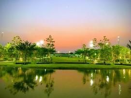 Der Chulalongkorn Centenary Park in Bangkok