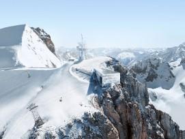 Bergstation auf dem Titlis, Visualisierung