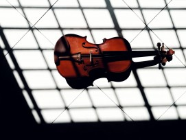 Geige, Symbolbild.