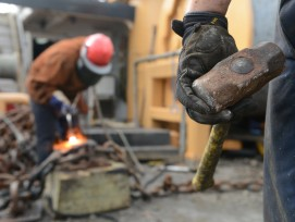Bauarbeiter, Symbolbild.