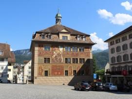 Kulturgut von nationaler Bedeutung: Rathaus in Schwyz.