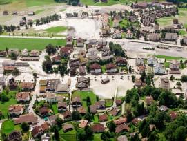 Nur eine voraussschauende Planung der Kanalisation und der Bau von Auffangbecken können verhindern, dass ganze Gemeinden im Wasser stehen.