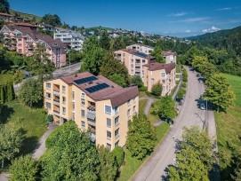 Hochhüsliweid-Quartier in Luzern.