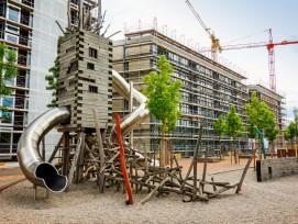 Aufnahme von Juni 2017: Damals befand sich das Quartier noch im Bau.