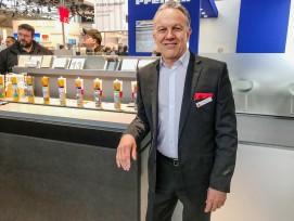 Roland Bischoff, Geschäftsbereichsleiter Dachsysteme.