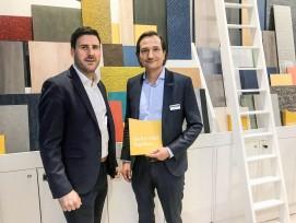 Fabio Grazia, General Manager Sales & Marketing Schweiz (links)  und Lutz Vöing, Marketing Director DACH.