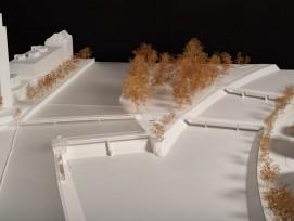 Platzspitzwehr in Zürich: Modell nach Erneuerung