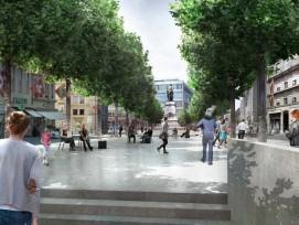 Für die Stadtist klar: Der Bau einer unterirdischen Passage vom Hirschengraben her zum neuen Zugang Bubenberg des Hauptbahnhofs Bern ist absolut notwendig.
