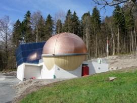 Die Talstation der Staubern-Bahn