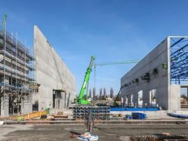 Stadler-Rail-Werk St. Margrethen im Bau