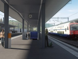 Implenia realisiert für die SBB den Vierspurausbau am Bahnhof in Liestal.