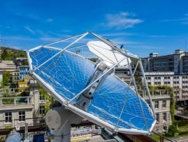 Der chemische Prozess wird mit Sonnenenergie angetrieben.