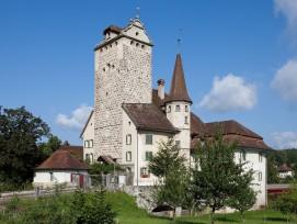 Das Schloss Aarwangen entstand im 13. Jahrhundert.
