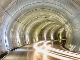 Tunnelbau, Symbolbild.
