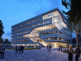 Der Entwurf für den Gebäudekomplex nennt sich «Matrix 1».